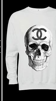 CHANEL skull logo 7 handmade high quality ditailed by hand ...