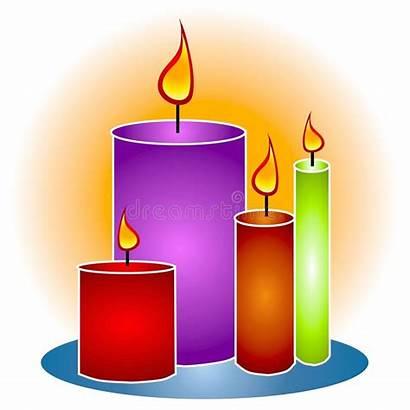 Clipart Candles Lit Candle Kerzen Decorative Kaarsen