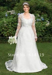 amazing plus size long sleeve wedding dress a line high With a line wedding dresses plus size