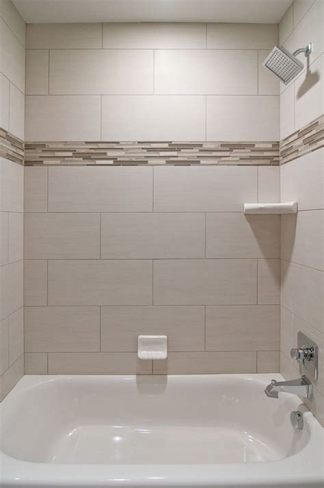 love oversized subway tiles   bathroom