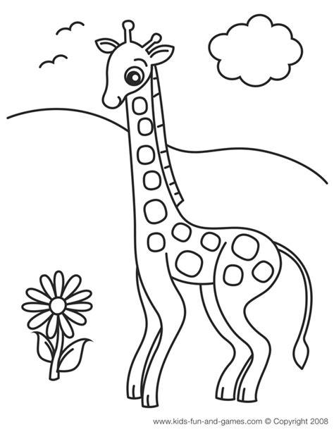 desenhos  girafinha   flor colorir  pintar qdb