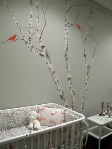 tree wall stencil contemporary nursery color theory With best brand of paint for kitchen cabinets with weeping willow wall art