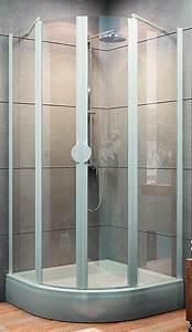 Duschkabine 90x90 Viertelkreis Radius 550 : schulte sunny viertelkreis duschkabine 4 teilig mit dreht ren 1800x800x800 mm radius 550 mm ~ Watch28wear.com Haus und Dekorationen