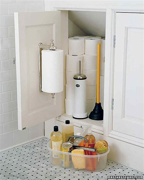 bathroom organizers martha stewart