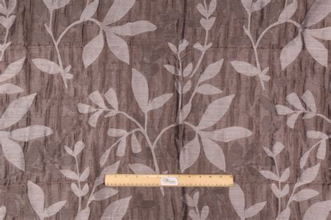 1 5 yards designer semi sheer poly linen drapery fabric in