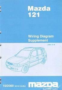 Mazda 121  Dw  10  2000 Factory Wiring Diagram Manual Supplement Mazda Motor Corporation