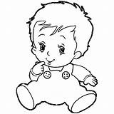 Coloring Boy Pages Baby Print Colouring Boys Printable Clipart Preschool Cartoon Books Newborn Wecoloringpage Popular Library Getcolorings Coloringhome sketch template