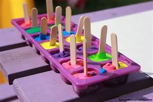 Activites Enfant 2 Ans : peindre avec des gla ons de gouache une activit rafraichissante et color e pour cet t le ~ Melissatoandfro.com Idées de Décoration
