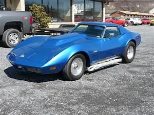 Corvette C3 Stingray : 1973 blue corvette t top stingray hot rod classic c3 corvettes for sale at hobby car ~ Medecine-chirurgie-esthetiques.com Avis de Voitures