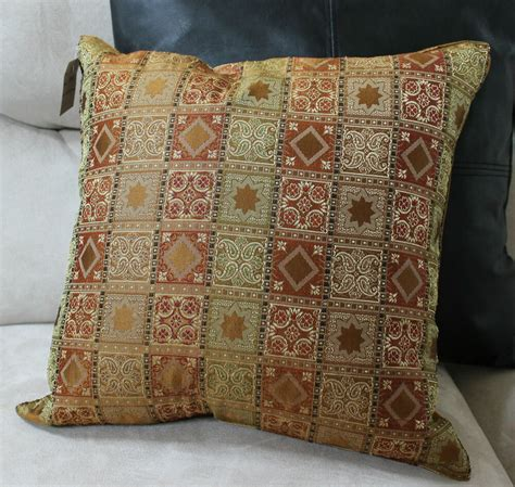 decorative pillows pillow gold accent decorative designer cover home