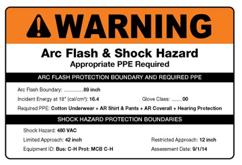 arc flash facts creative safety supply