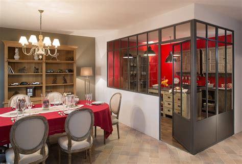 cuisine verri鑽e separation vitree cuisine maison design sphena com