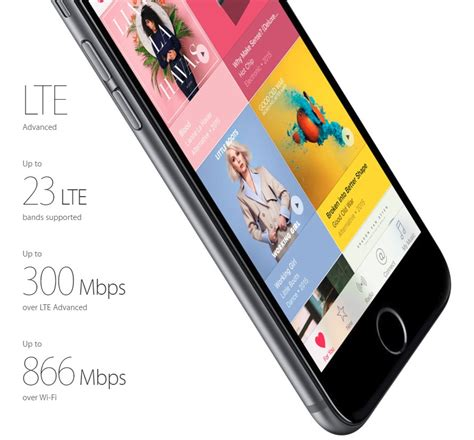 iphone lte bands six ways the iphone 6s is better than the galaxy s6
