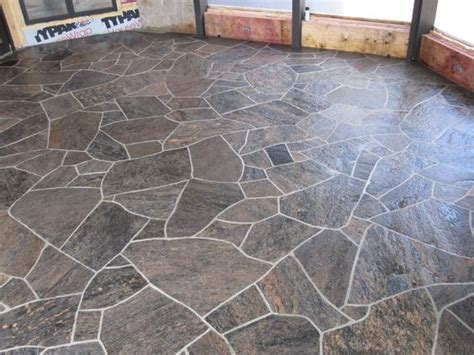 flagstone tiles flagstone floor mla barber shop pinterest floors and flagstone