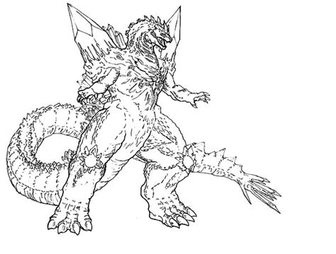 godzilla coloring pages godzilla coloring pages color luna