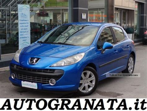 fiche technique peugeot 207 sw 1 6 hdi110 2006 peugeot 207 1 6 16v hdi related infomation specifications weili automotive network