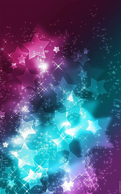 Purple Pink Star Backgrounds Teal Background Stars
