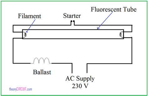 Fresh Tube Light Circuit Diagram With Starter