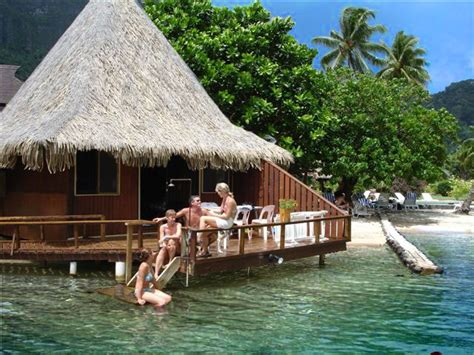 Bora Bora Overwater Bungalows For 4 People In One Room
