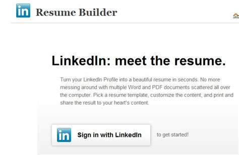 Resume Linkedin Labs Home Login by Cv A Partir De Linkedin