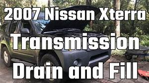 2007 Nissan Xterra Transmission Drain And Fill