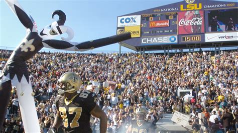Saints could move home games to LSU if New Orleans won't ...