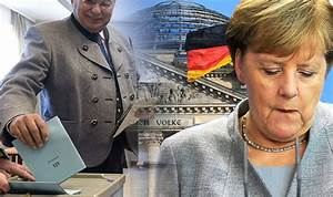 Bavaria election results: Merkel in CHAOS as her party ...