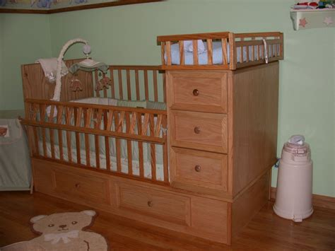 baby cribs with drawers underneath crib drawers changing table for my by togoman