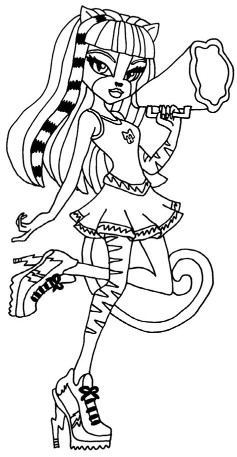 Kleurplaat High by Purrsephone High Coloring Page High