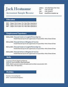 accounting free cv template dot org With free accounting resume templates