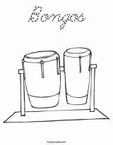 Coloring Bongos Drums Taiko Cursive Login Favorites sketch template