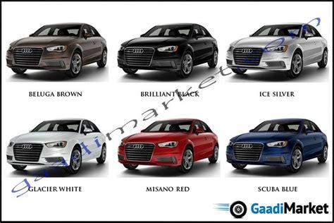 colours audi colour options audi audi  cars