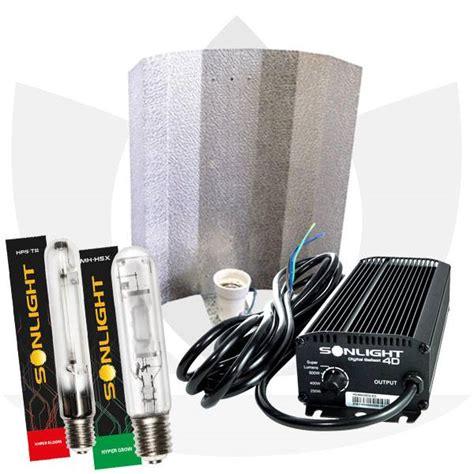 illuminazione indoor kit luce indoor elettronico lade hps e mh 400w sonlight