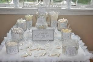 all white decorations