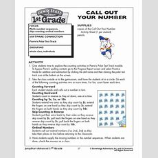 Call Out Your Number  Skip Counting Worksheet For Kids  Math Blaster