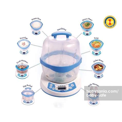 baby safe 10in1 jual baby safe 10 in 1 multifunction steamer babyzania