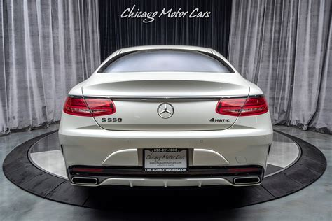Convertible 2d s550 v8 turbo. Used 2017 Mercedes-Benz S550 4 Matic Coupe Sport Package! For Sale (Special Pricing) | Chicago ...