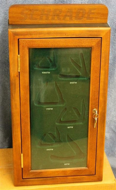 Knife Display Cabinet by Nos Schrade Knife Knives Locking Dealer Display