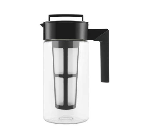 Cold brew coffee has been getting quite a buzz around it lately, and not just because it packs a strong kick of caffeine compared to regular coffee, but making cold brew at home is easy, it just requires a little bit of planning ahead. Takeya Cold Brew Iced Coffee Maker - So That's Cool