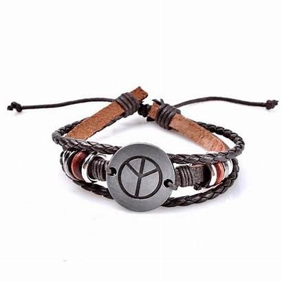 Bracelet Peace Bracciali Bijoux Harry Newchic Woven