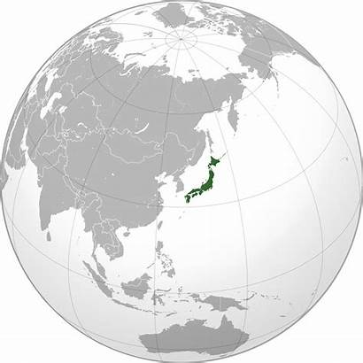 Japan Maps Map Projection History Orthographic Asia
