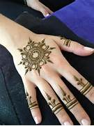 To Apply Mehndi Designs How To Draw Simple   Easy Henna Design Easy      Easy Hand Henna