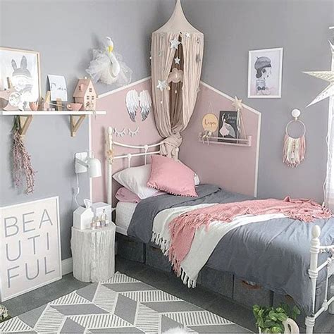 Zimmer Rosa Grau by Bedroom Ideas Rooms Bedrooms Toddler