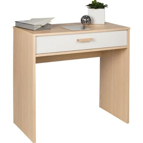 Small Light Wood Desk by Small Desk Or Dressing Table 1 Drawer Acacia Light Wood