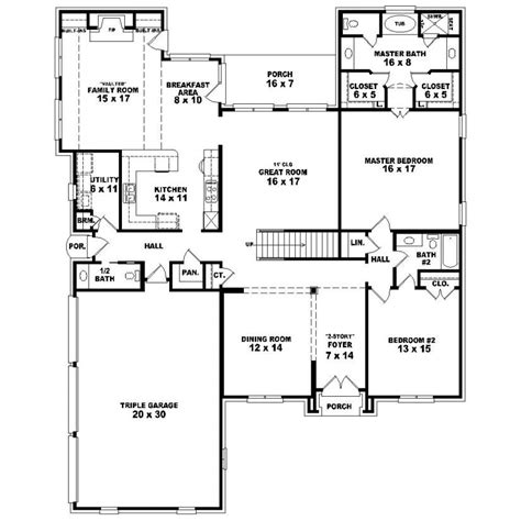 house plans 5 bedrooms 5 bedroom house plans 2 photos and