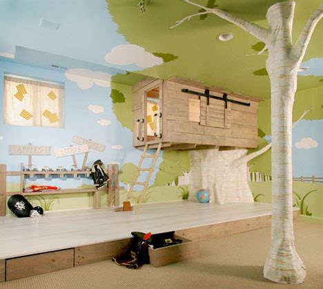 Baumhaus Für Kinderzimmer by Indoor Baumh 228 User 10 Coole Ideen F 252 R Die Kinder