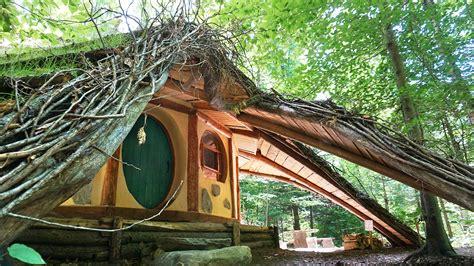 hobbit house  amazing green roof video