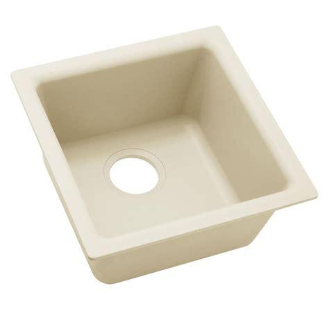 elkay premium quartz drop in undermount composite 16 in