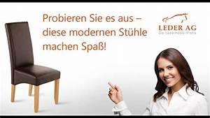 Leder Online Kaufen : echtleder esszimer st hle online kaufen bei leder ag youtube ~ Watch28wear.com Haus und Dekorationen