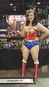 No Con Is Complete Without Wonder Woman  She Stopped By To